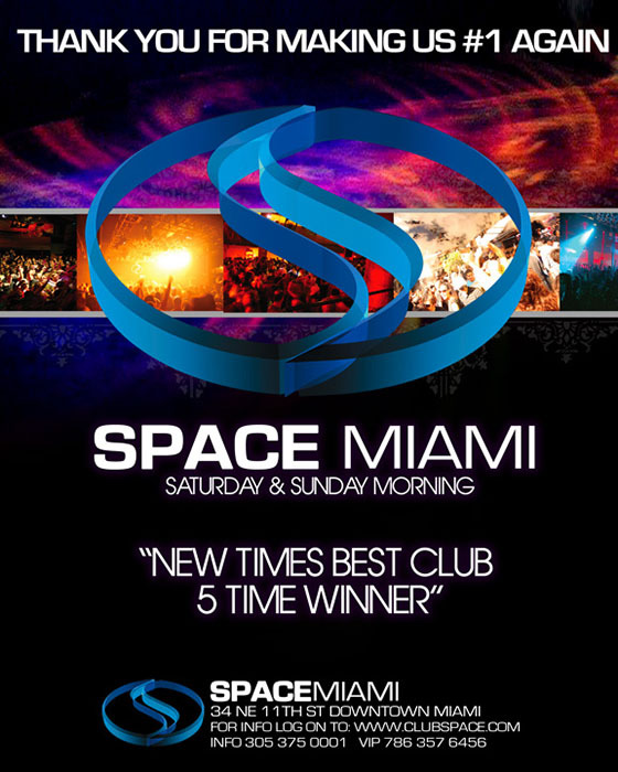 Space Club Miami